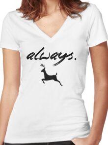Always Women's Fitted V-Neck T-Shirt