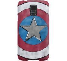 Captain America Shield Samsung Galaxy Case/Skin