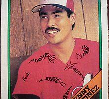 344 - Denny Martinez by Foob's Baseball Cards