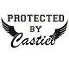 Protected By Castiel by CrysLuna