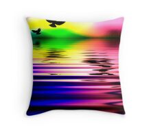 Tranquility No2 Throw Pillow