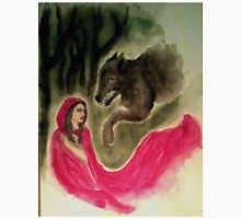 Red Riding Hood and the Wolf Unisex T-Shirt
