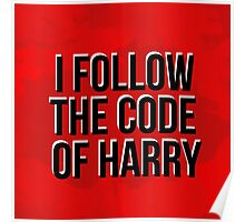 The Code Of Harry Poster