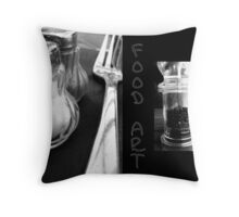 Food Art Throw Pillow