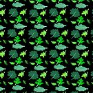 Kale pattern by paperdreamland