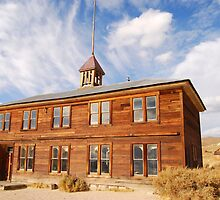 Schoolhouse in Bodie by N2Digital