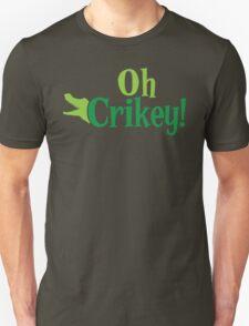 Oh CRIKEY! Australian slang with a crocodile alligator T-Shirt