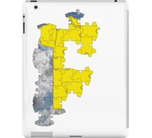 the t-shirt puzzle iPad Case/Skin