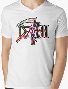 Scream Bloody Gore Mens V-Neck T-Shirt