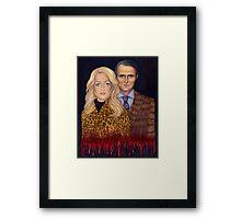 Hannibal & Bedelia Framed Print