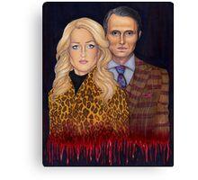 Hannibal & Bedelia Canvas Print
