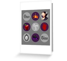 Regina Mills, Once Upon a Time Greeting Card