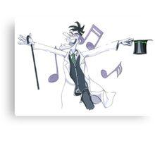 Musical Doof Canvas Print