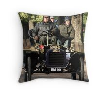 Aproaching the finish line Throw Pillow