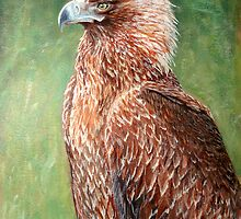 The proud Eagle by Carole Russell