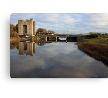 Bunratty castle morning view Canvas Print