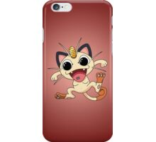 Meowth On Acid iPhone Case/Skin