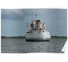 Forgotten Cutter Off Meritt Island, Florida Poster