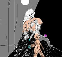 mountain cloud shepherd's crook 2 - fleshier version by mhkantor
