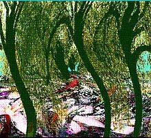 Floral Undergrowth by Deborah Dillehay