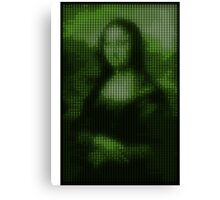 Painting By Numbers: Mona Lisa Canvas Print