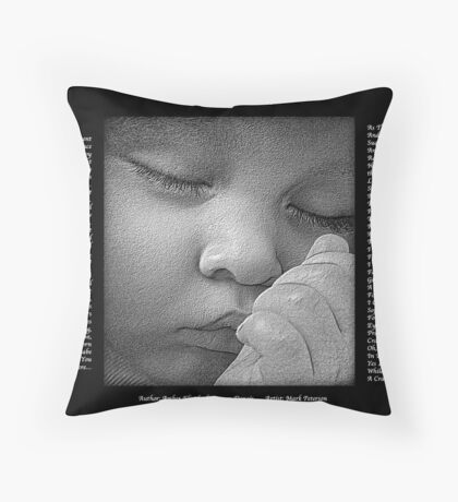 A Cradle For Innocent Throw Pillow