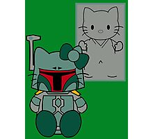 SOLO and FETT KITTY Photographic Print