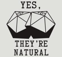 Natural D20s by Daks