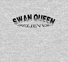 Swan Queen believer Womens Fitted T-Shirt