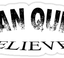 Swan Queen believer Sticker