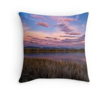 Cloudy To The West Throw Pillow