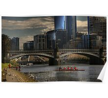 Afternoon on the Yarra.... Poster