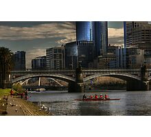 Afternoon on the Yarra.... Photographic Print