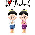 I LOVE THAILAND by harrisonformula