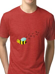 Bee Music Tri-blend T-Shirt