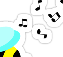 Bee Music Sticker