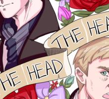 The Head, The Heart Sticker
