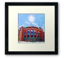 Busch Stadium Sky! Framed Print