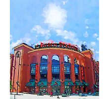 Busch Stadium Sky! Photographic Print