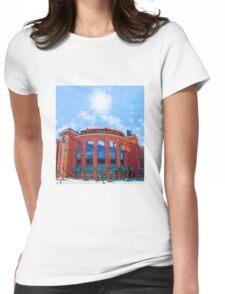 Busch Stadium Sky! Womens Fitted T-Shirt