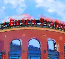 Busch Stadium Sky! Sticker
