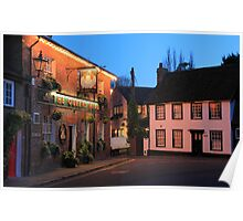 The Queens Head, Chesham, Buckinghamshire Poster