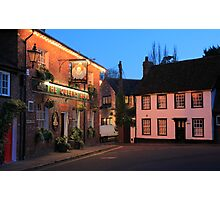 The Queens Head, Chesham, Buckinghamshire Photographic Print