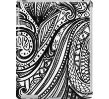 Zentangle-ly iPad Case/Skin