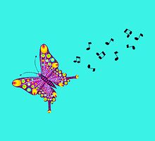 Butterfly Music by Sharon Robertson