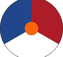 Roundel of the Royal Netherlands Air Force by abbeyz71