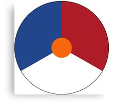 Roundel of the Royal Netherlands Air Force Canvas Print