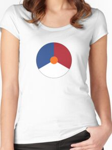 Roundel of the Royal Netherlands Air Force Women's Fitted Scoop T-Shirt