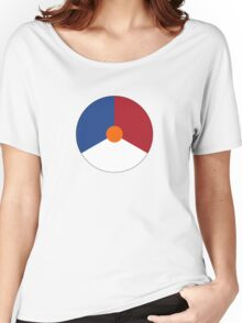 Roundel of the Royal Netherlands Air Force Women's Relaxed Fit T-Shirt