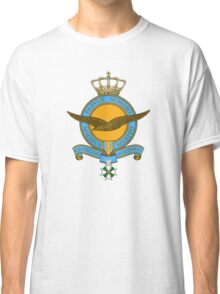 Emblem of the Royal Netherlands Air Force Classic T-Shirt